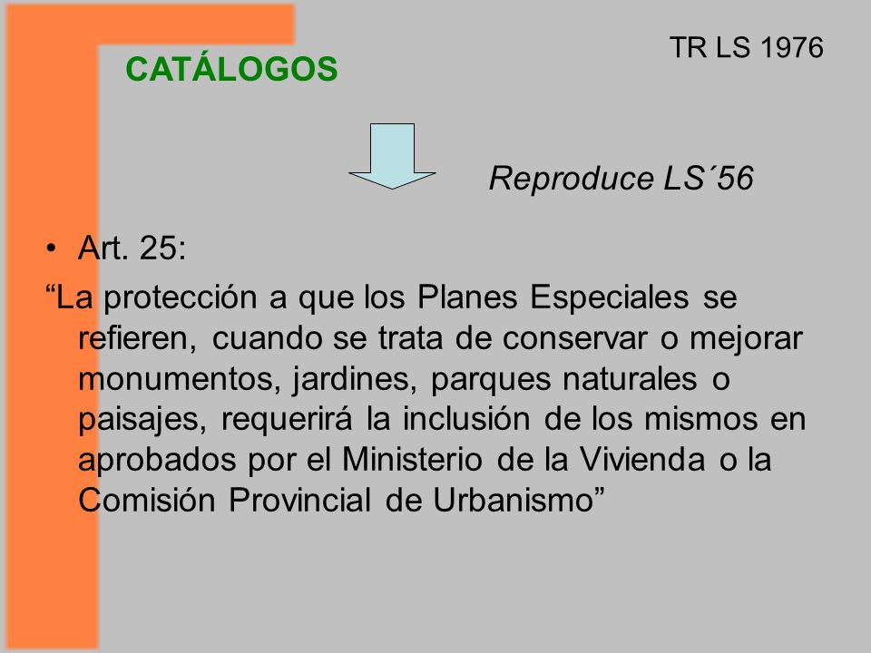 CATÁLOGOS Reproduce LS´56 Art. 25: