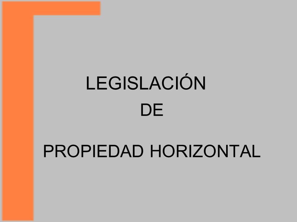 DE PROPIEDAD HORIZONTAL