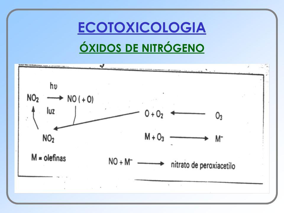 ECOTOXICOLOGIA ÓXIDOS DE NITRÓGENO