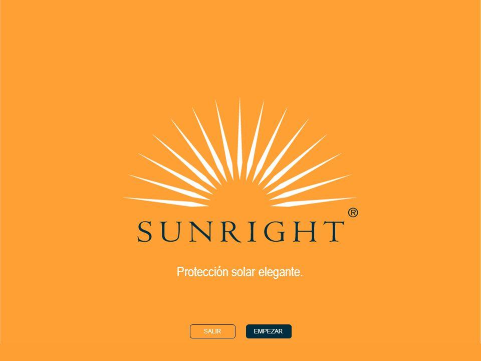 Protección solar elegante.