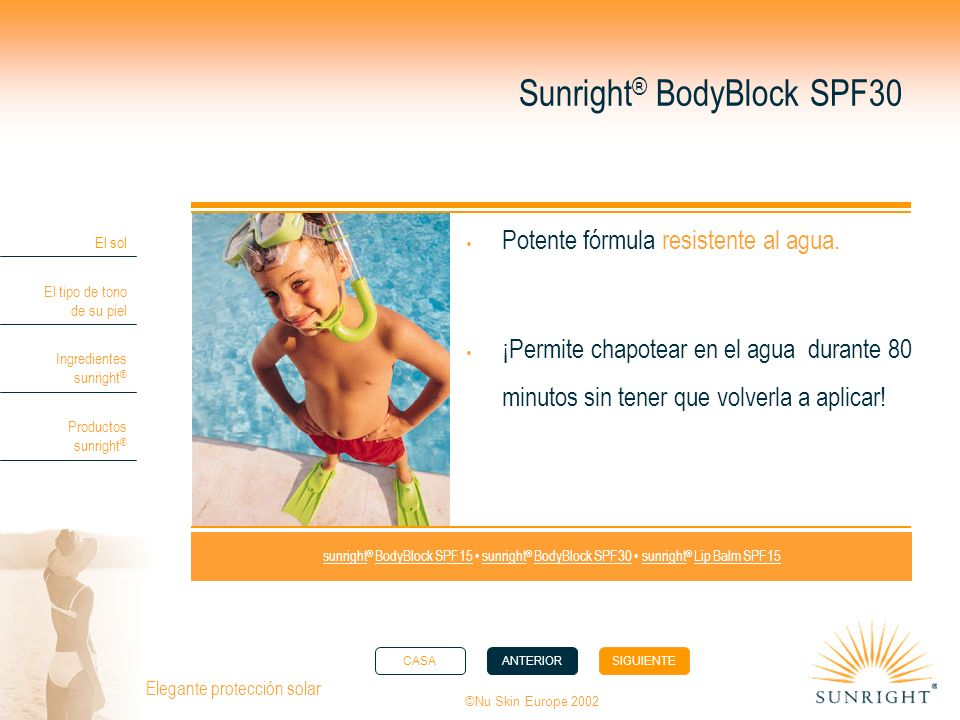 Sunright® BodyBlock SPF30