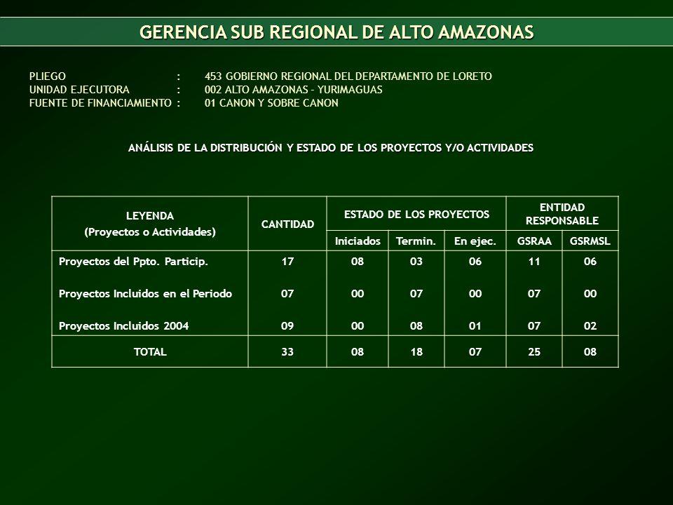 GERENCIA SUB REGIONAL DE ALTO AMAZONAS