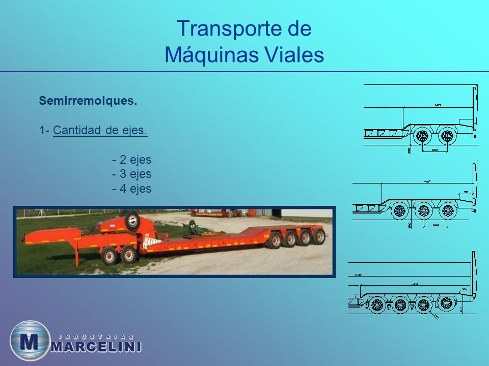 Transporte de Máquinas Viales
