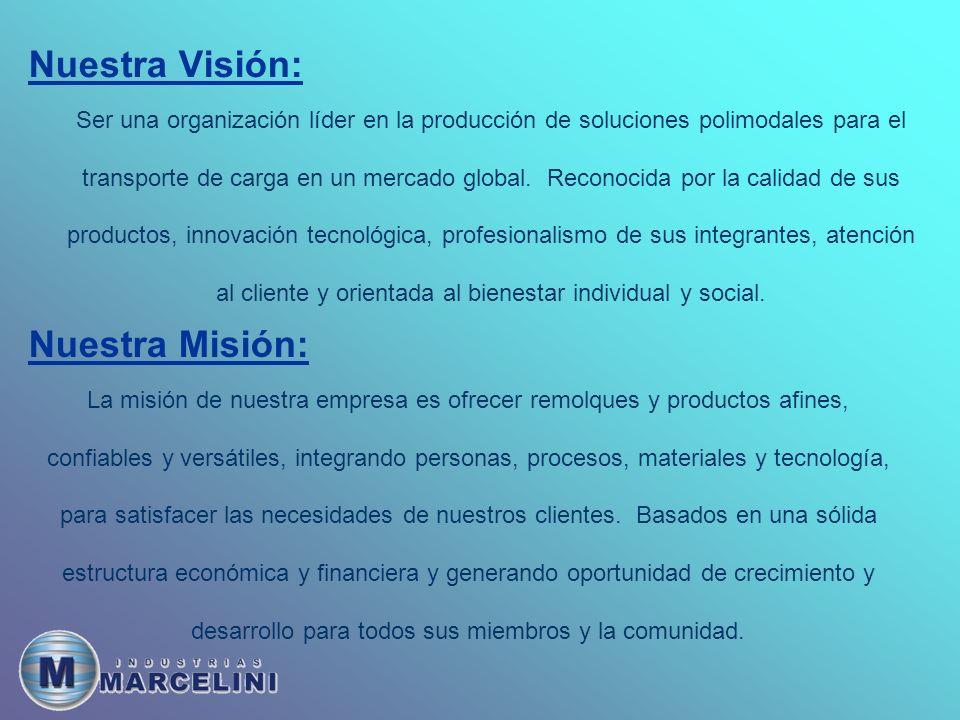 Nuestra Visión: Nuestra Misión: