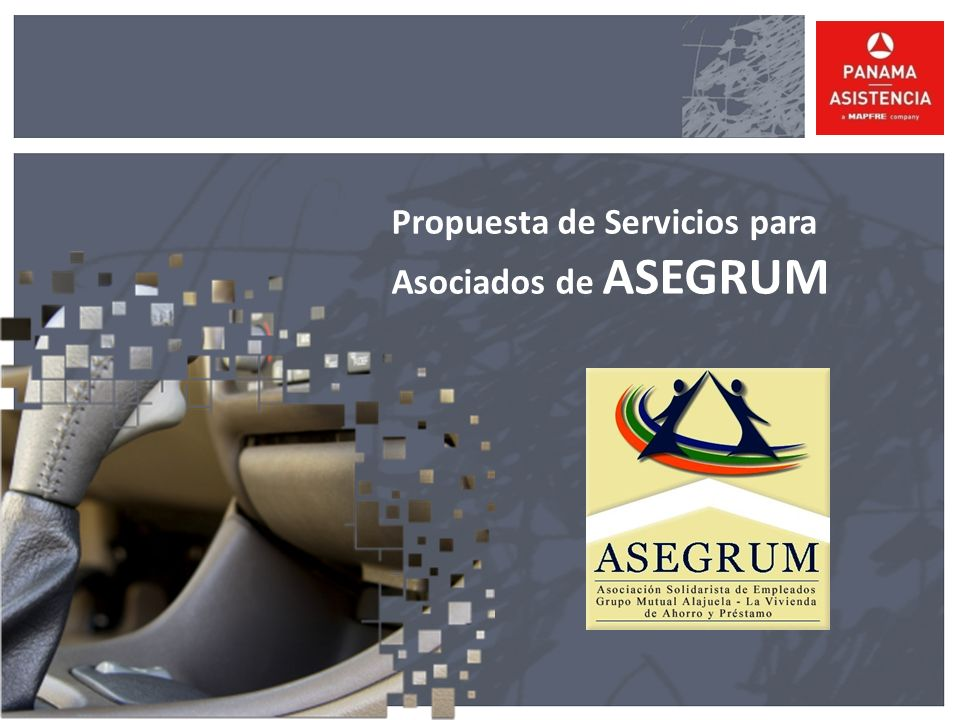 Propuesta de Servicios para Asociados de ASEGRUM