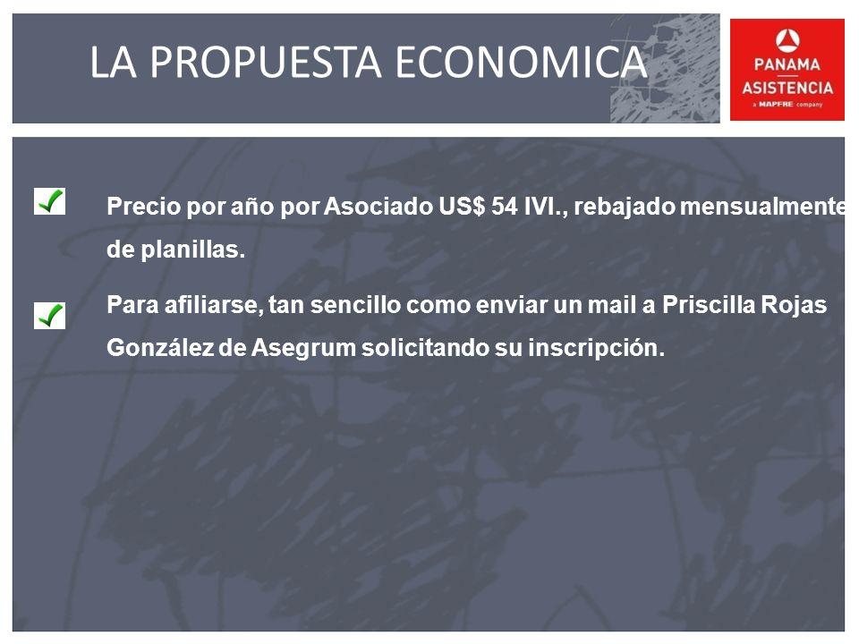 LA PROPUESTA ECONOMICA