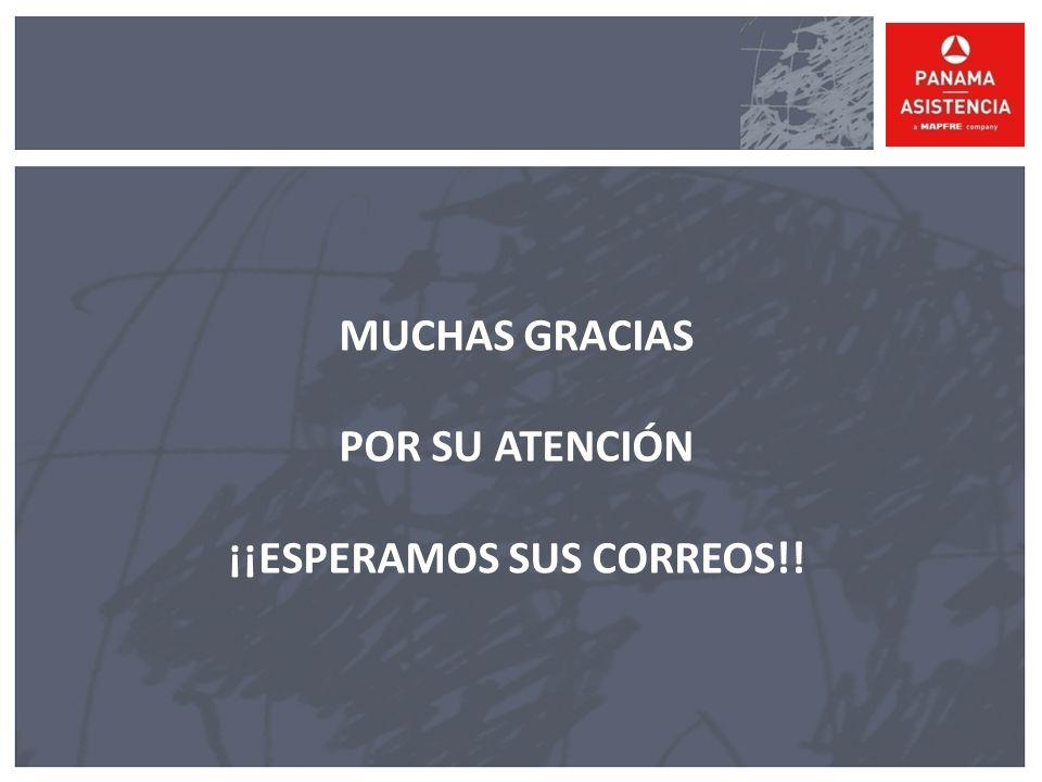 ¡¡ESPERAMOS SUS CORREOS!!