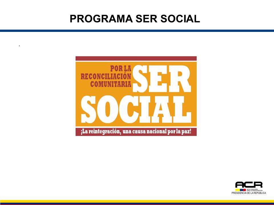 PROGRAMA SER SOCIAL .
