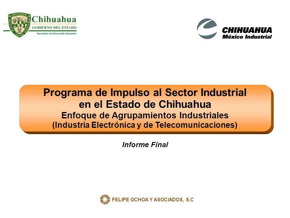 Programa de Impulso al Sector Industrial en el Estado de Chihuahua