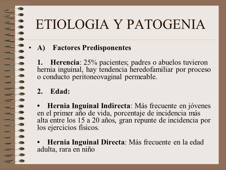 ETIOLOGIA Y PATOGENIA