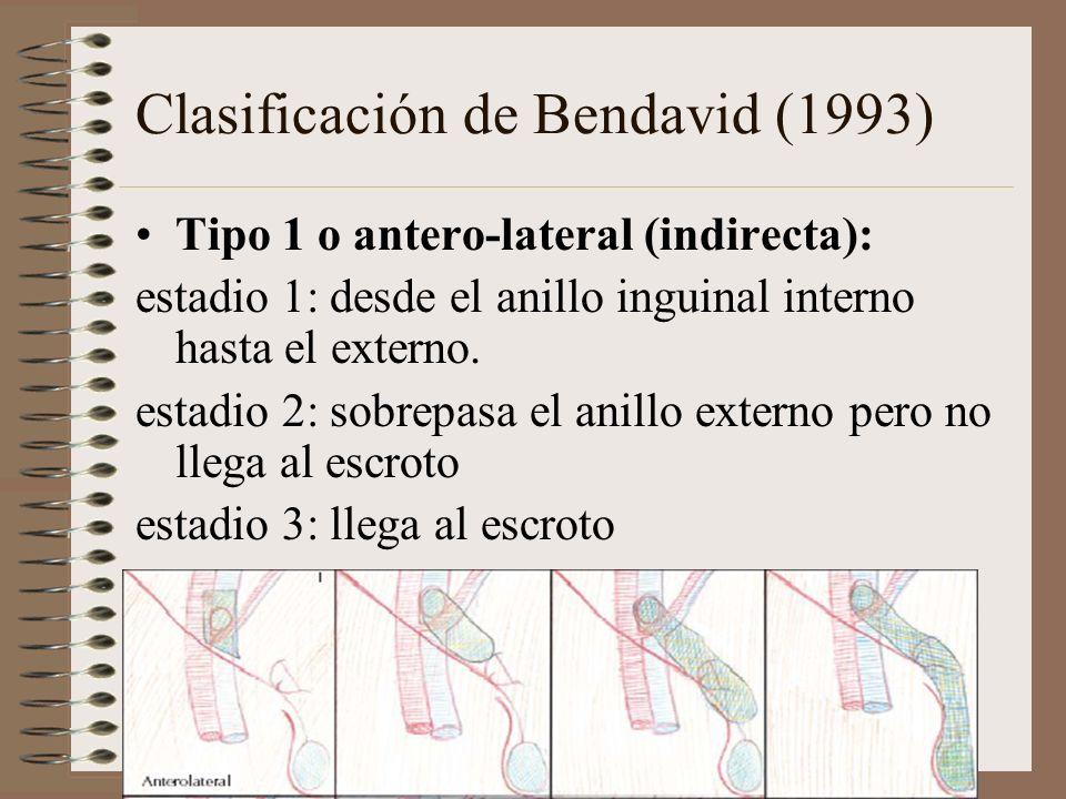 Clasificación de Bendavid (1993)