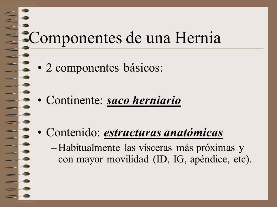 Componentes de una Hernia