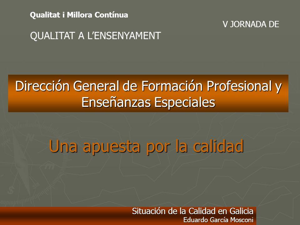 Dirección General de Formación Profesional y Enseñanzas Especiales