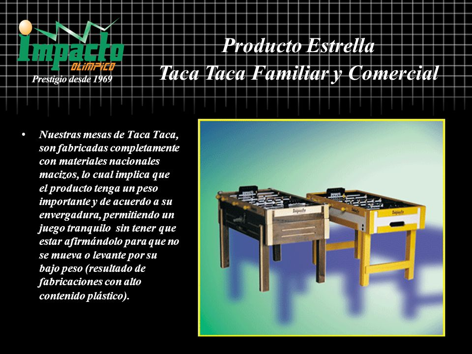 Taca Taca Familiar y Comercial