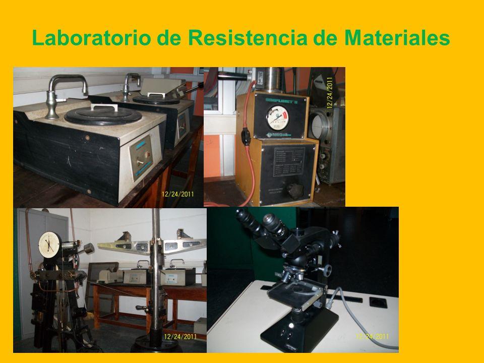 Laboratorio de Resistencia de Materiales