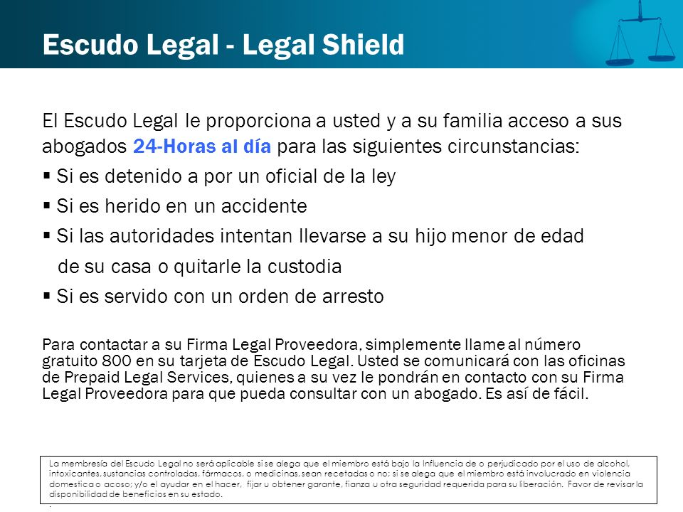 Escudo Legal - Legal Shield