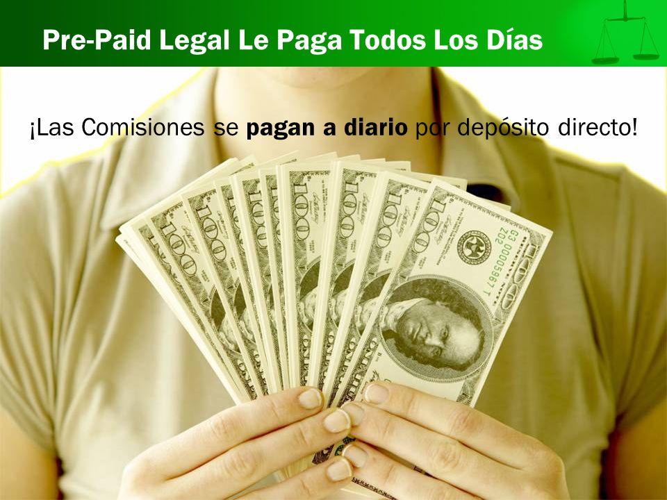 Pre-Paid Legal Le Paga Todos Los Días