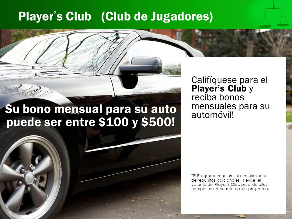 Player's Club (Club de Jugadores)