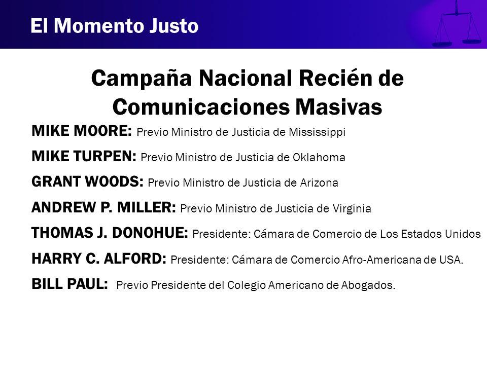 Campaña Nacional Recién de Comunicaciones Masivas