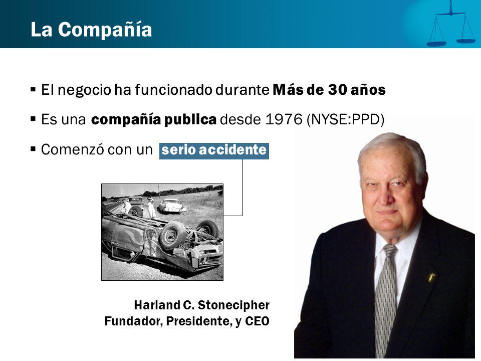 La Compañía El negocio ha funcionado durante Más de 30 años