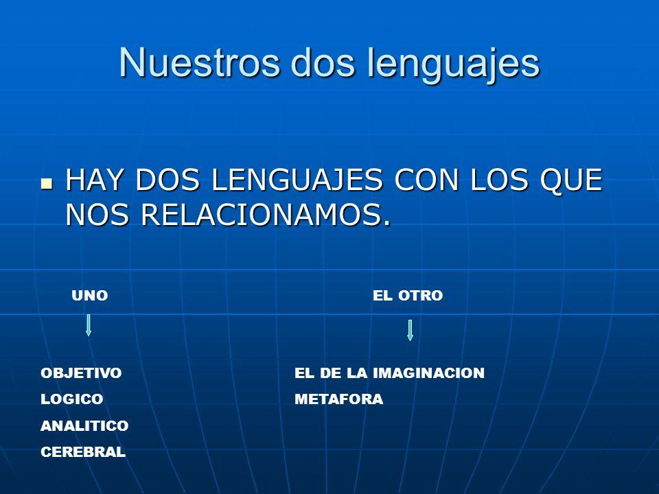 Nuestros dos lenguajes