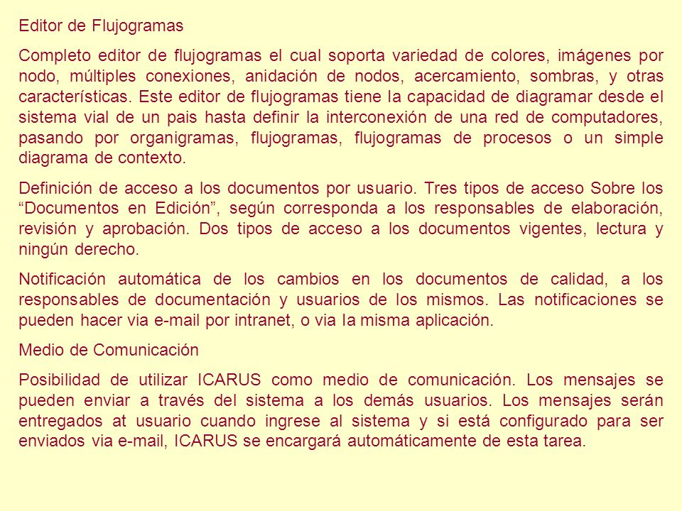 Editor de Flujogramas
