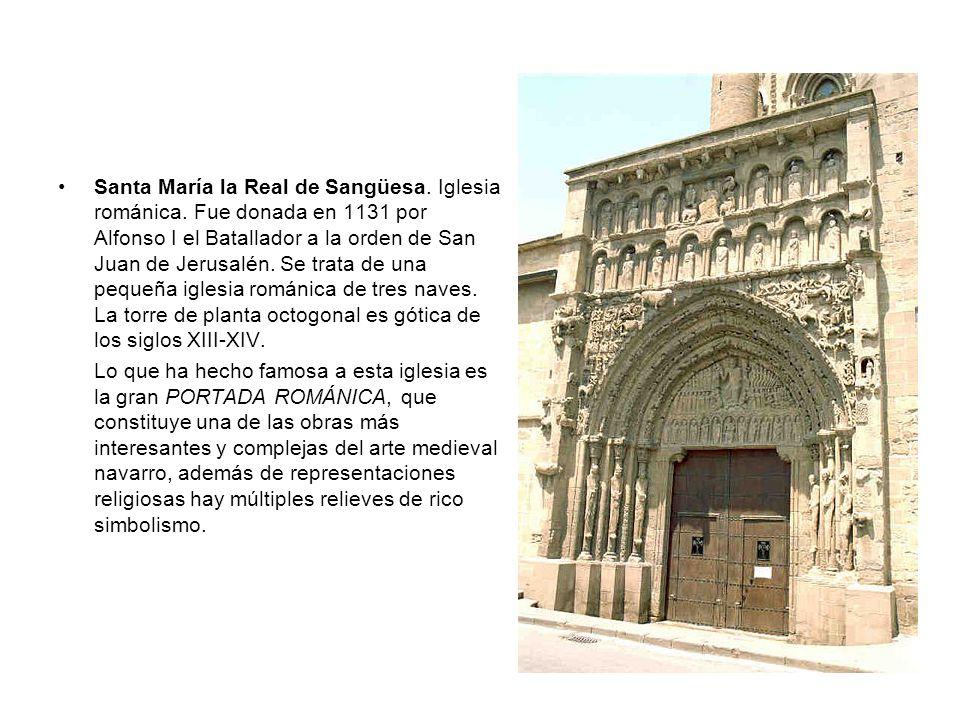 Santa María la Real de Sangüesa. Iglesia románica