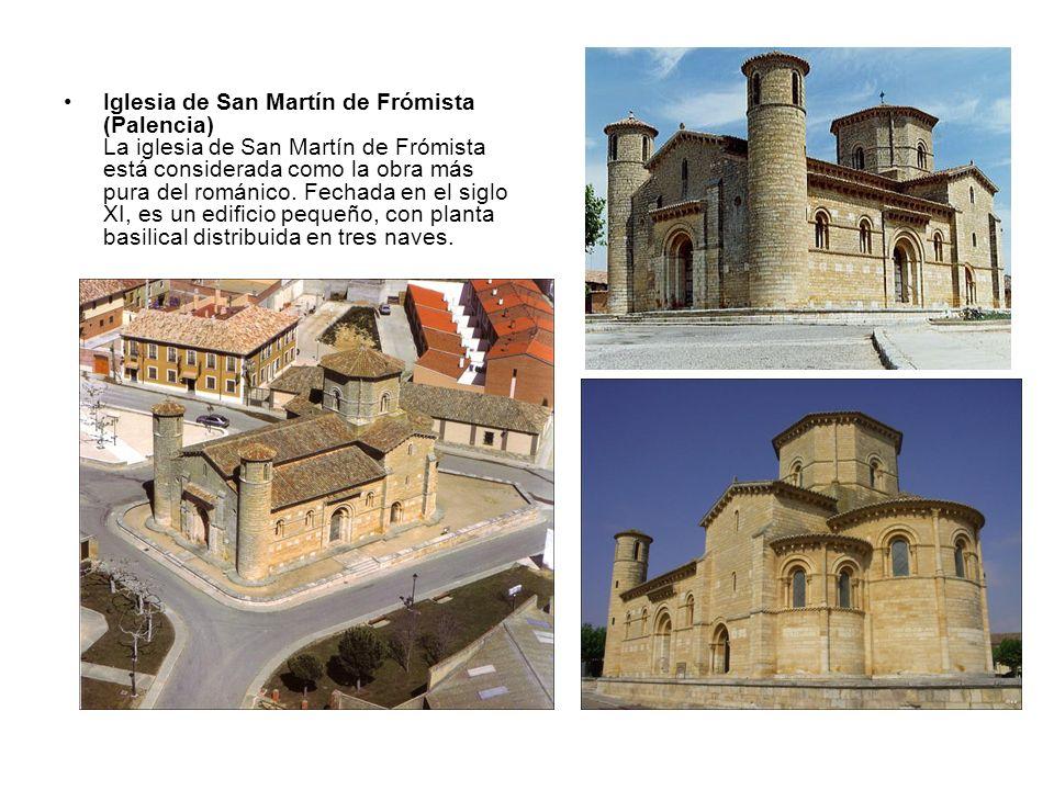 Iglesia de San Martín de Frómista (Palencia) La iglesia de San Martín de Frómista está considerada como la obra más pura del románico.