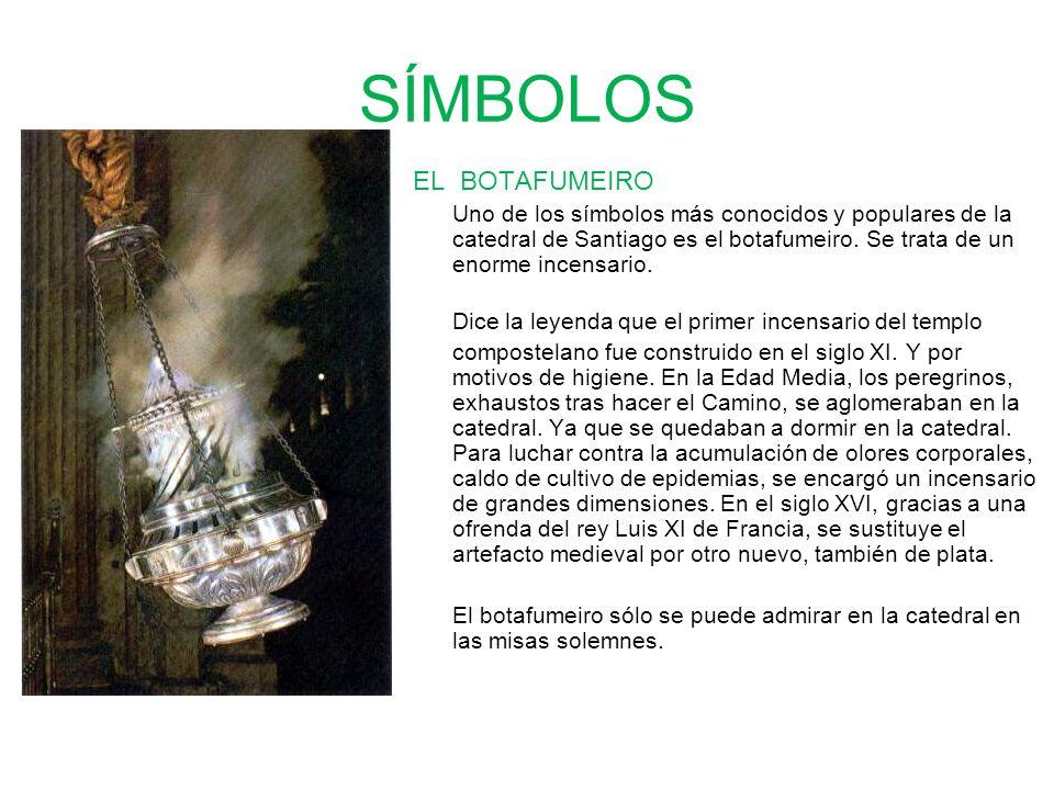 SÍMBOLOS EL BOTAFUMEIRO