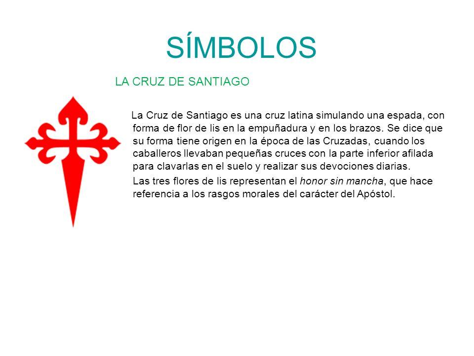 SÍMBOLOS LA CRUZ DE SANTIAGO