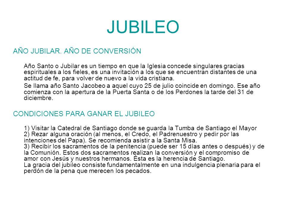 JUBILEO AÑO JUBILAR. AÑO DE CONVERSIÓN
