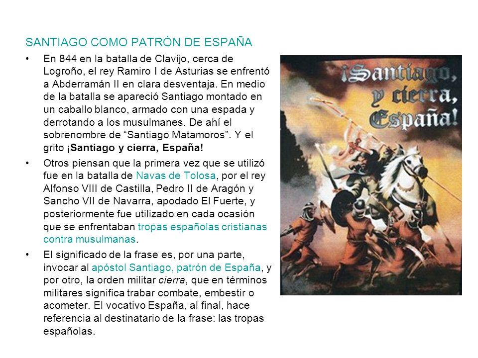 SANTIAGO COMO PATRÓN DE ESPAÑA