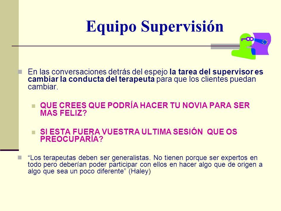 Equipo Supervisión