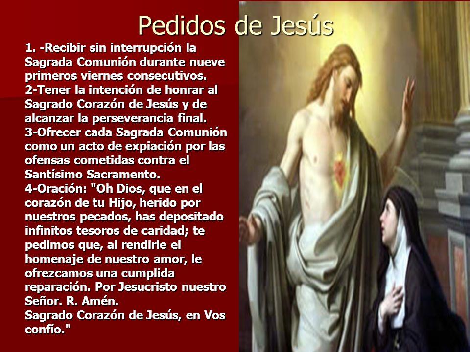 Pedidos de Jesús