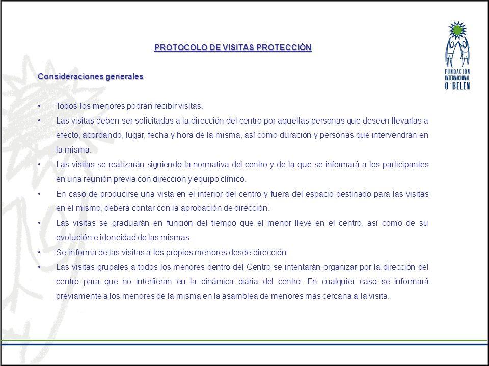 PROTOCOLO DE VISITAS PROTECCIÓN