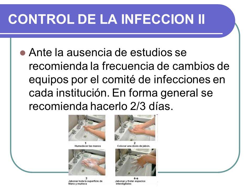 CONTROL DE LA INFECCION II