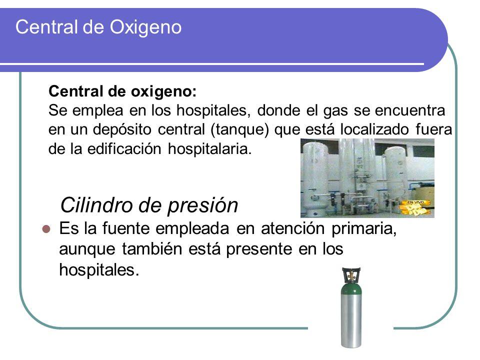 Central de Oxigeno Central de oxigeno: