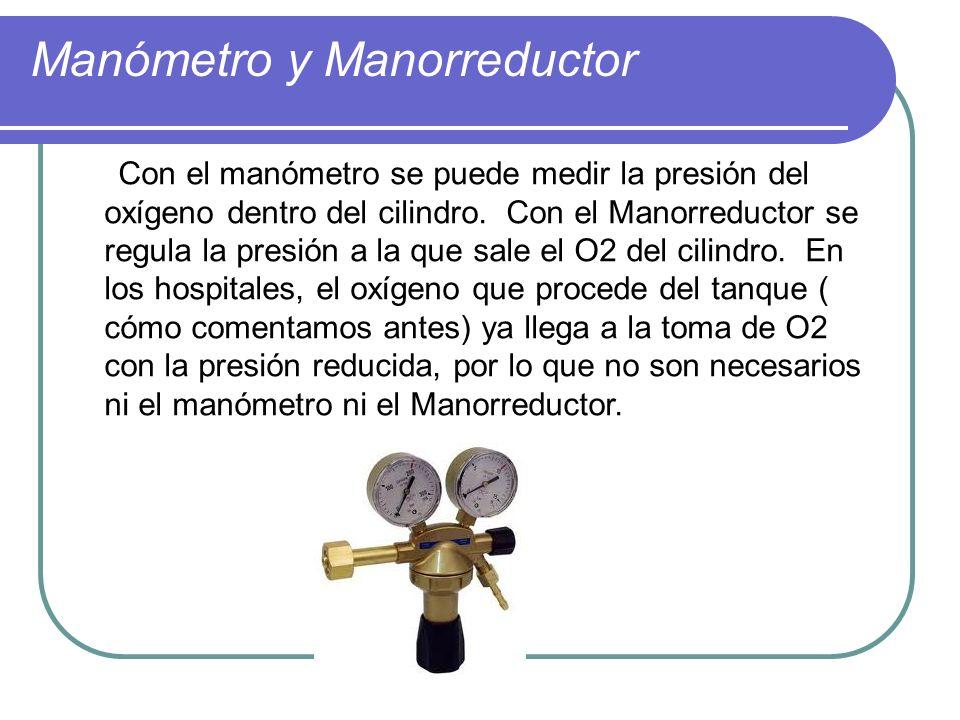 Manómetro y Manorreductor