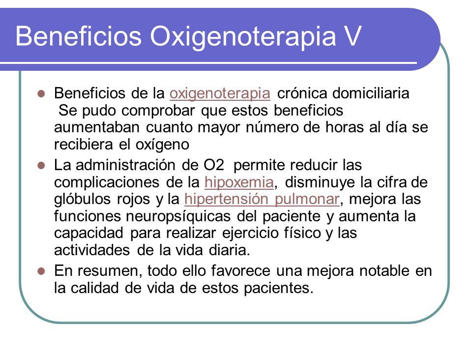 Beneficios Oxigenoterapia V