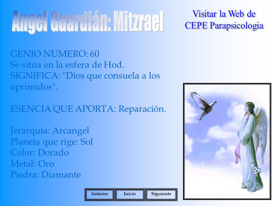 Angel Guardián: Mitzrael