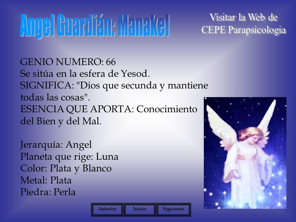 Angel Guardián: Manakel