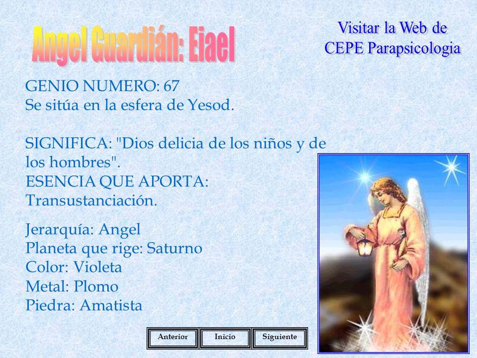 Angel Guardián: Eiael Visitar la Web de CEPE Parapsicologia