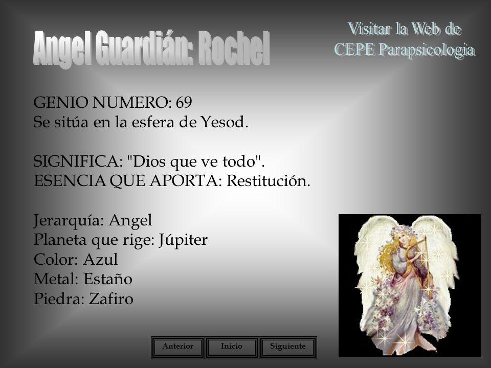 Angel Guardián: Rochel