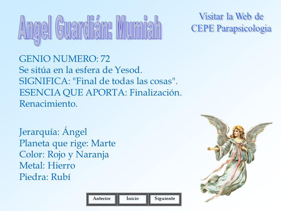 Angel Guardián: Mumiah