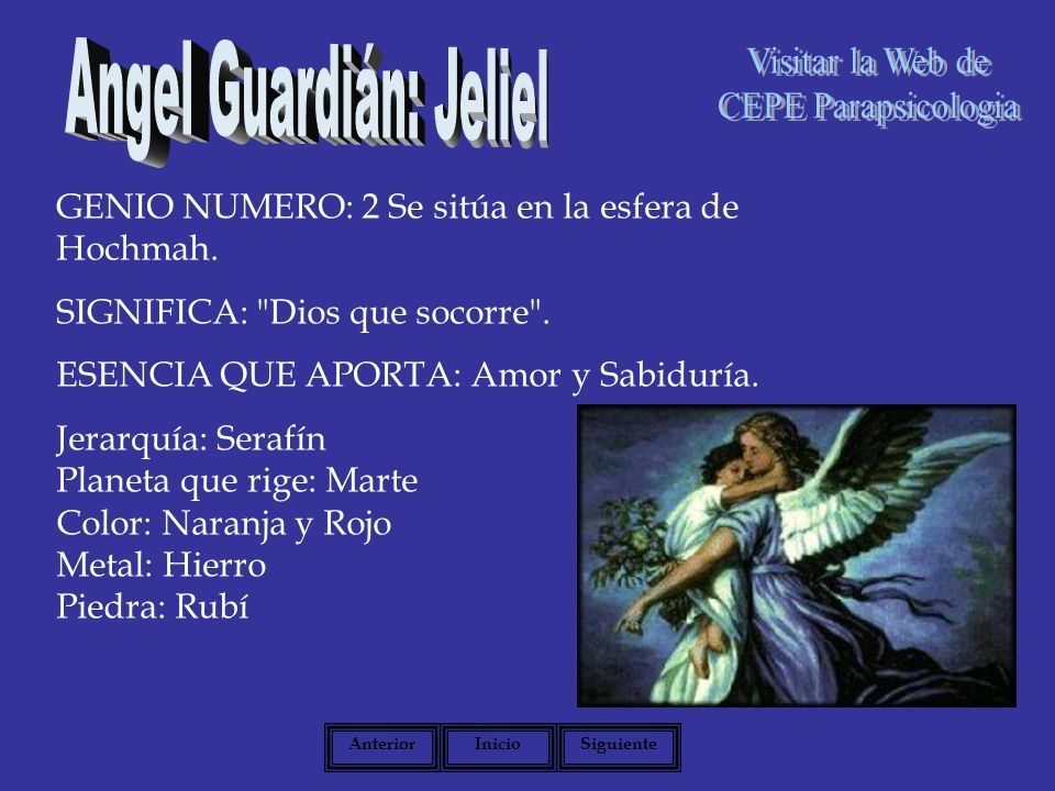 Angel Guardián: Jeliel