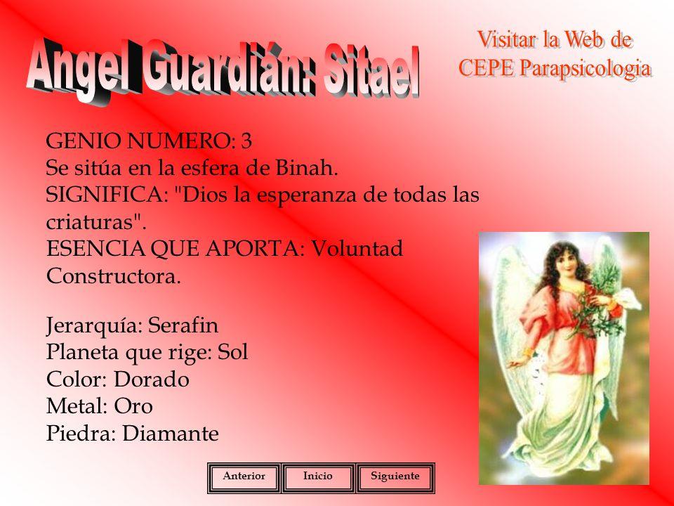 Angel Guardián: Sitael