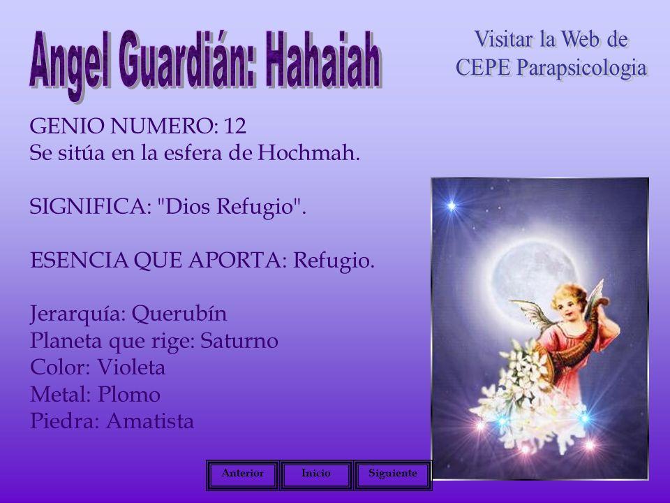 Angel Guardián: Hahaiah