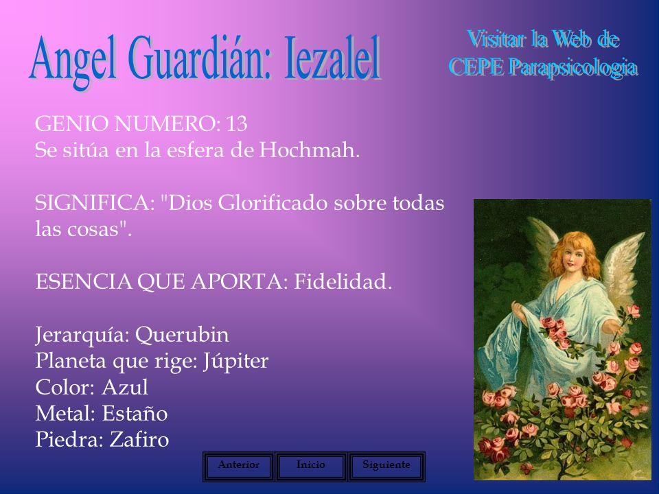 Angel Guardián: Iezalel