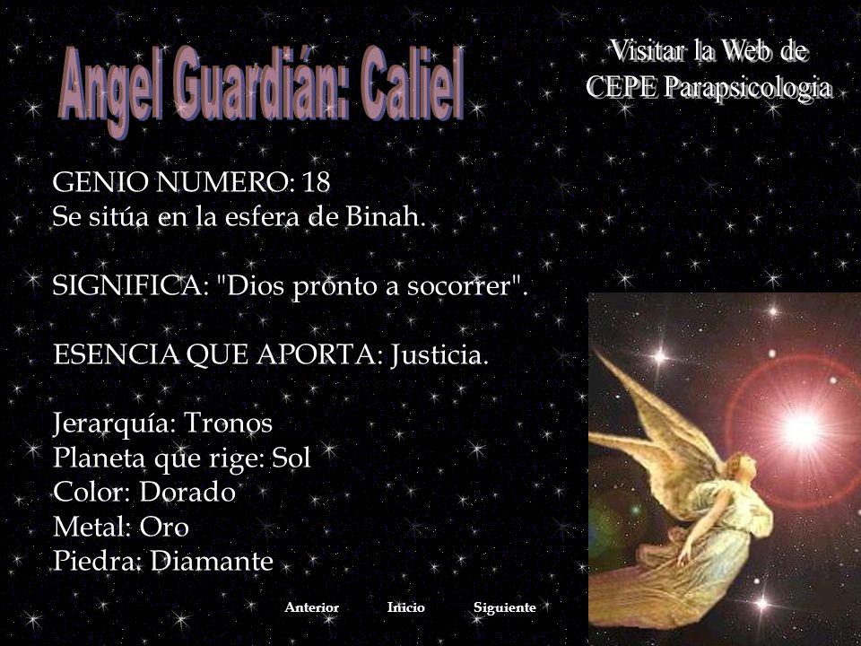 Angel Guardián: Caliel