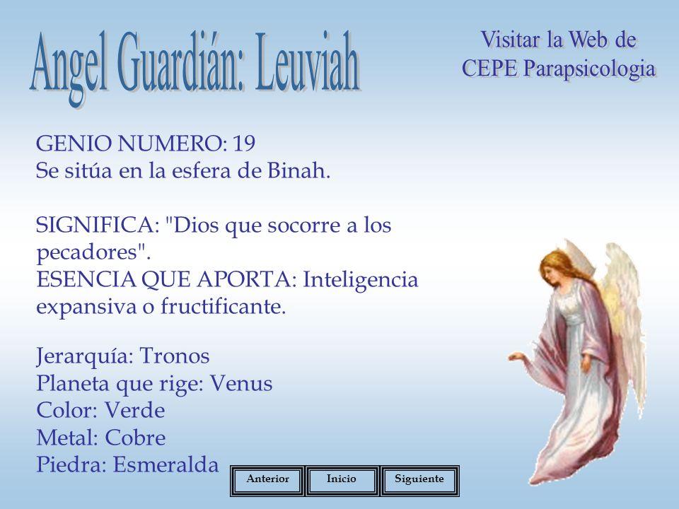 Angel Guardián: Leuviah